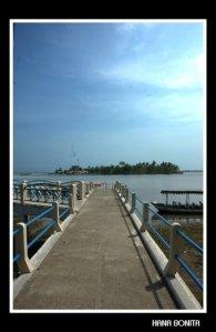 Jembatan Terminal Menuju Pantai